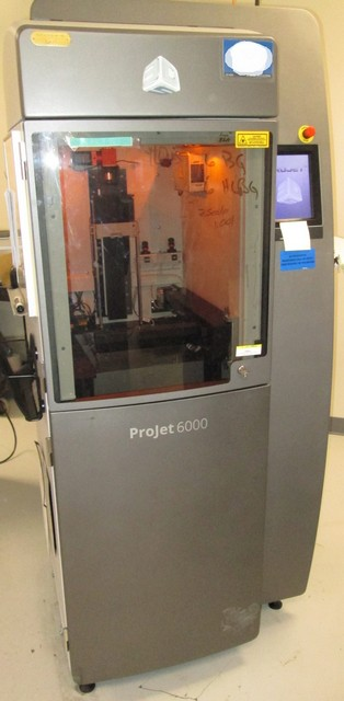 2014 3D Systems ProJet HD 6000 SLA 3D Printer – UZATA com